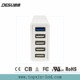 Multi Port USB Charger for Mobile Phone 5 Port QC3.0 Fast Charger