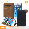 Smart phone leather cover for iphone 5s