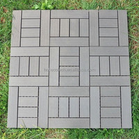green choice , outdoor easy install WPC CIY Tiles
