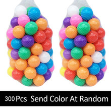 300 шт./лот, экологически чистые шарики, уличные игрушки для детей, мягкий пластиковый Океанский шар, детская игрушка для плавания, красочный ...(Китай)