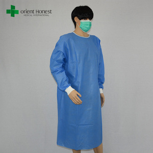 Hot sales China disposable medical non-woven SMS sterial surgical gown