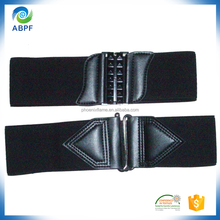 elastic belt with removable changeable buckle