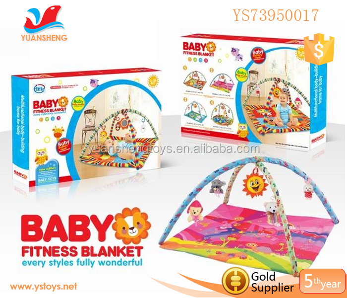 2015 Hottest Multifunction Funny Baby Blanket Educational Baby Activity Gym activity mats for toddlers