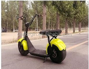 CE EEC certificated vintage electric mobility scooter 1000w 60v adult electric fat wheel motorcycle bike kit