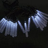 Icicle Shape solar power Led String Light For Christmas Holiday Festival Party Decoration
