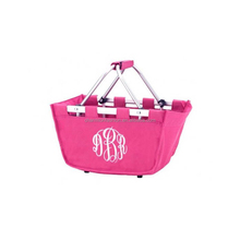 Groothandel Monogram Inklapbare Mini Markt Tote Kids <span class=keywords><strong>Pasen</strong></span> <span class=keywords><strong>Mand</strong></span>