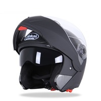 Good Quality PC Visor Double Visor Open Face Helmet Motorcycles Flip Up
