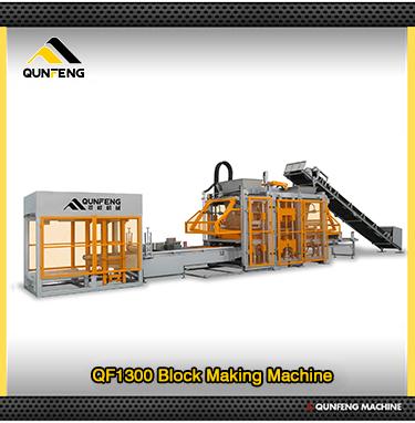QF1000 betonblok making machines te koop