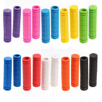 Bicycle Grip Bicycle Accessories Handle bar Grip Silica gel Racing Cheap Bike Parts Mountain Bike Handle Grips High Quality