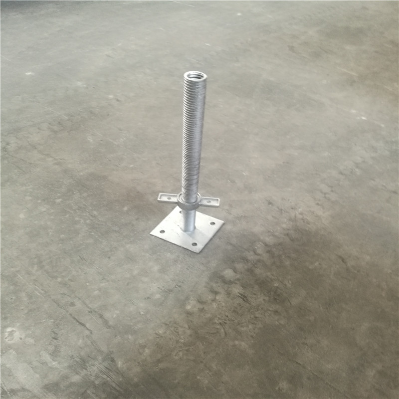 Steel Screw Jack High Quality Scaffolding Base Plate