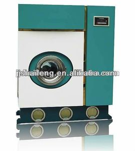 small dry cleaning machine