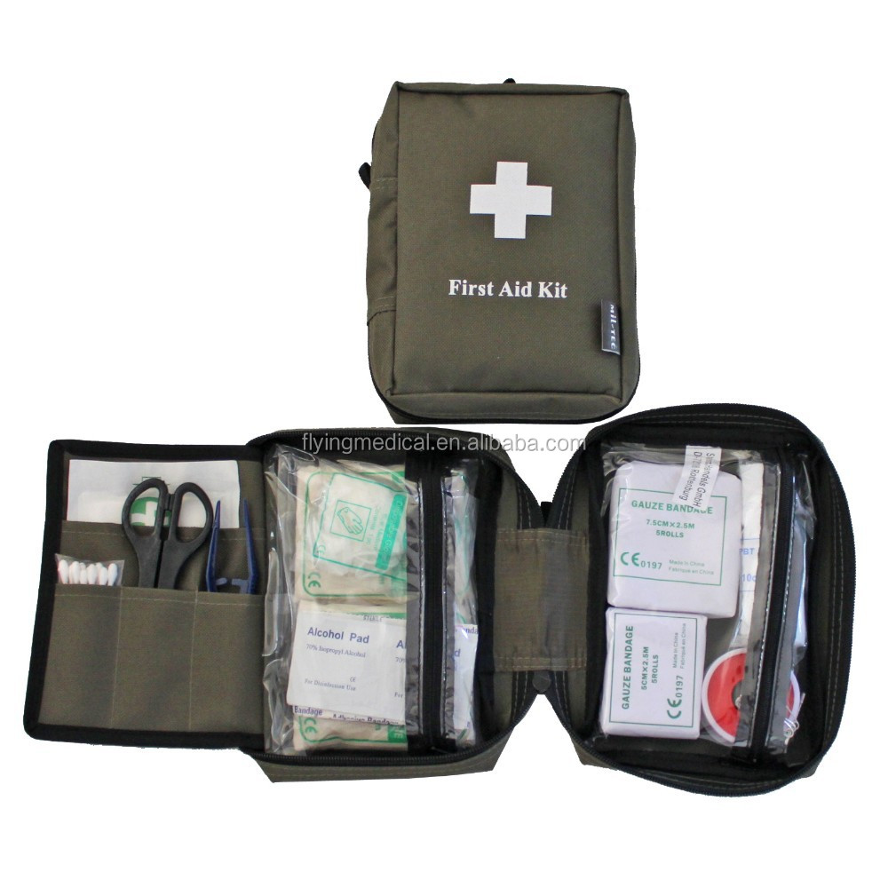 Military First Aid Kit / Family Emergency Bag/ Hot-selling - Buy Pet First  Aid Kit,First Aid Kit For Pet,Animal First Aid Kit Product on Alibaba com
