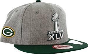 Green Bay Packers Superbowl XLV Adjustable Hat, M/L