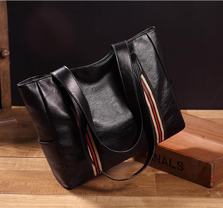 69c1600f947f 高品質ビッグボリュームハンドバッグ、ミニマリスト女性、 PU レザーラージトートバッグ女性
