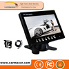 car bus truck security system 7inch car lcd monitor