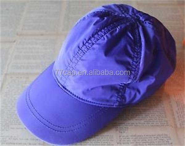 Six Panel Adults Sports Nylon Baseball Cap - Buy Nylon Baseball Cap ... 20cb4a99d68