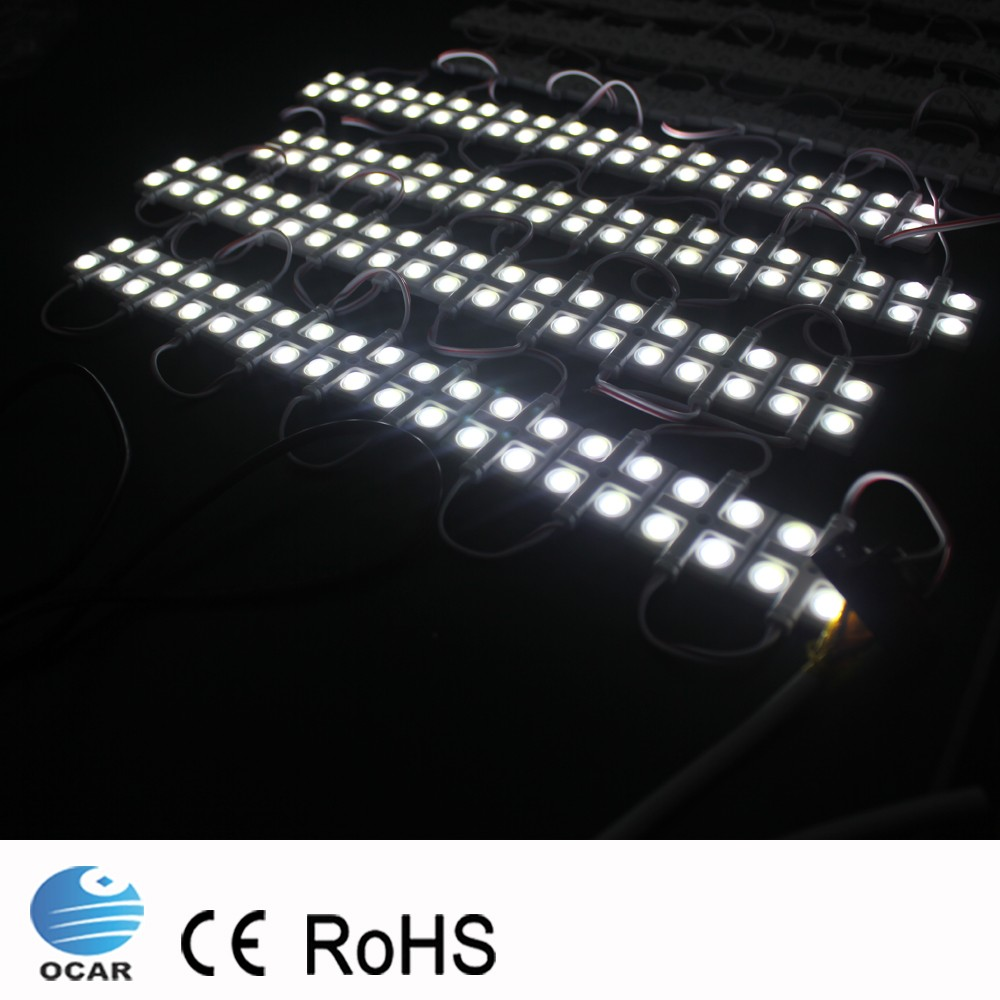 Outdoor IP67 waterproof 24v warm white neon light