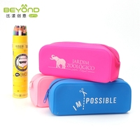 Custom cute school pop out pencil case for girl