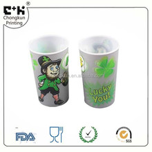customized printed plastic PP 3d lenticular cup 16oz