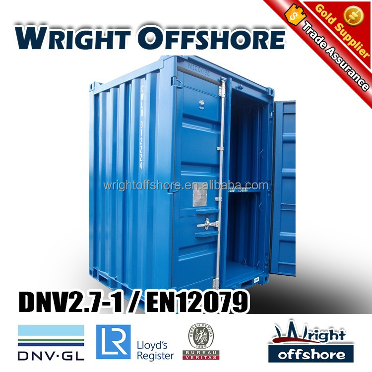 DNV Certified 6Ft Offshore Mini container, DNV2.7-1/En12079,