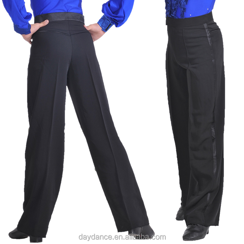 Pantalones De Baile Para Hombre,Salón Moderno,Salsa Tango