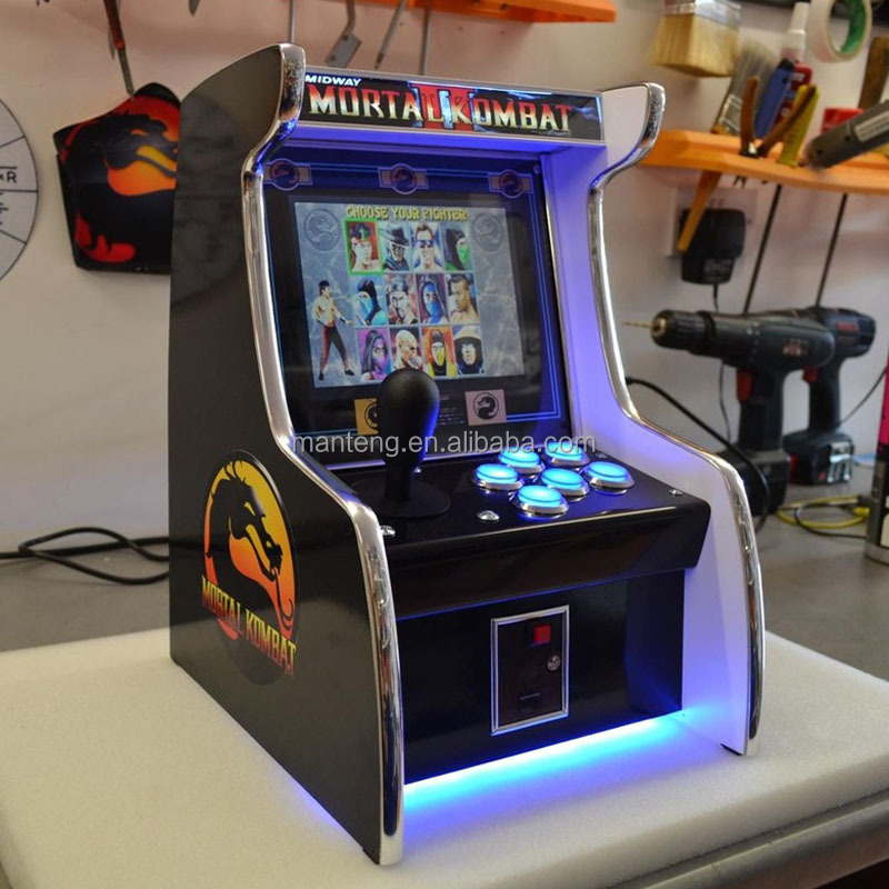 19 Inch Lcd Bureau Arcade Game Machine Met 512 In 1 Jamma