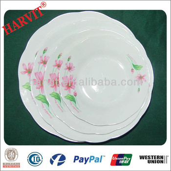 Wholesale Cheap Price White Tableware Dinner Plates Soup Plate ...