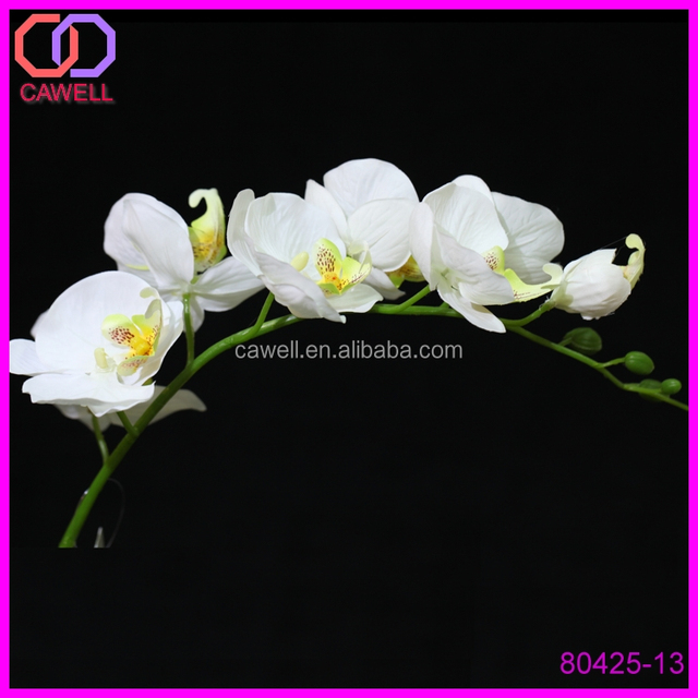 33 7 Heads Artificial Black Orchid Flowers For Sale Buy Black