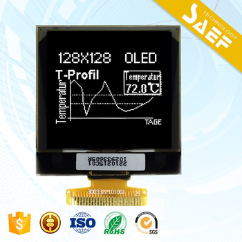 1.5 inch oled 128x128 graphic lcd display with SPI/ I2C interface
