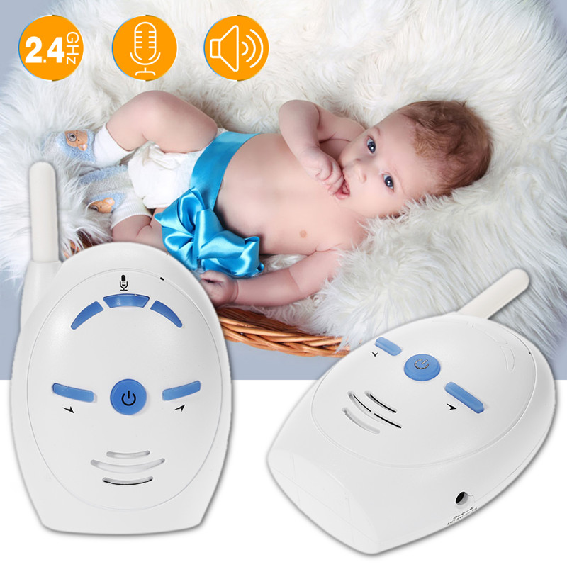 2.4GHz Digital Wireless Transmission 2019 Baby Monitor โทรศัพท์เสียง