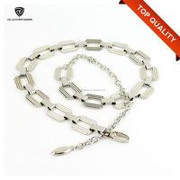 Cheap Metal Fancy Ladies Jeans Waist Chain Belt with Snap Hook