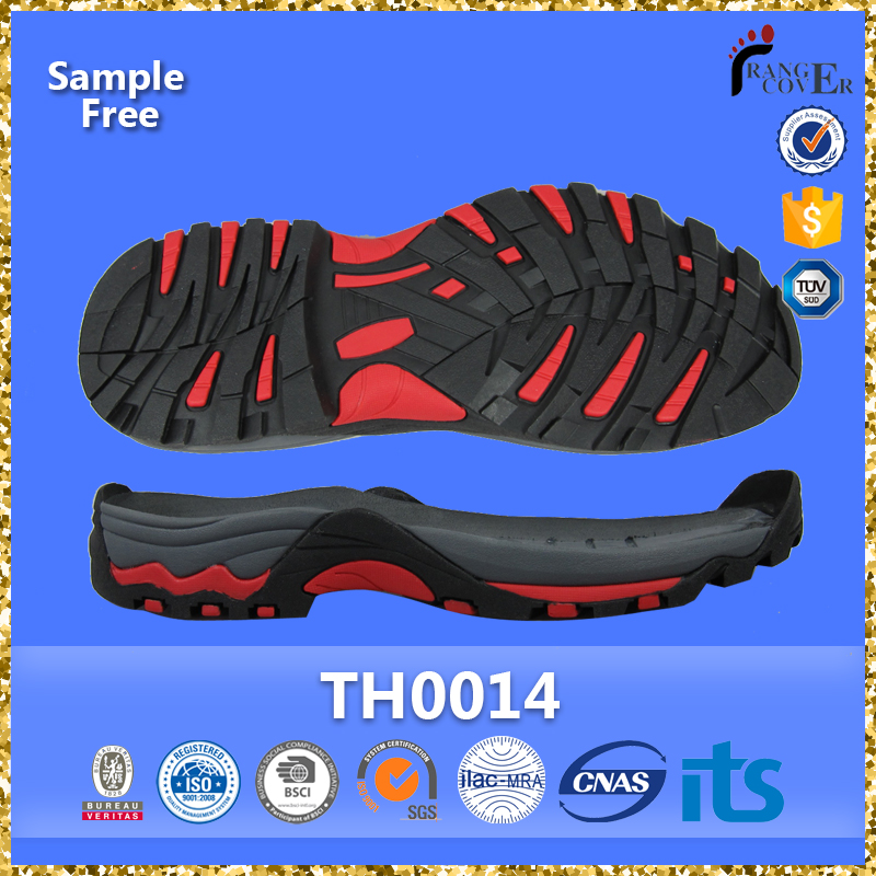 Fujian Factory High Quality Non Slip Rubber Boot Soles For Sale