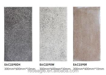 Decorazione della parete finitura terrazzo concrete piastrelle per