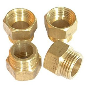 brass pipe extension nipple fittings