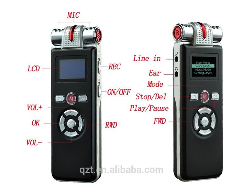 Digital Audio Voice Recorder Recording Pen Dictaphone 4GB MP3 Player