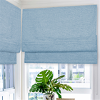 Quality Heat Resistant Blackout Roman blinds On Sale