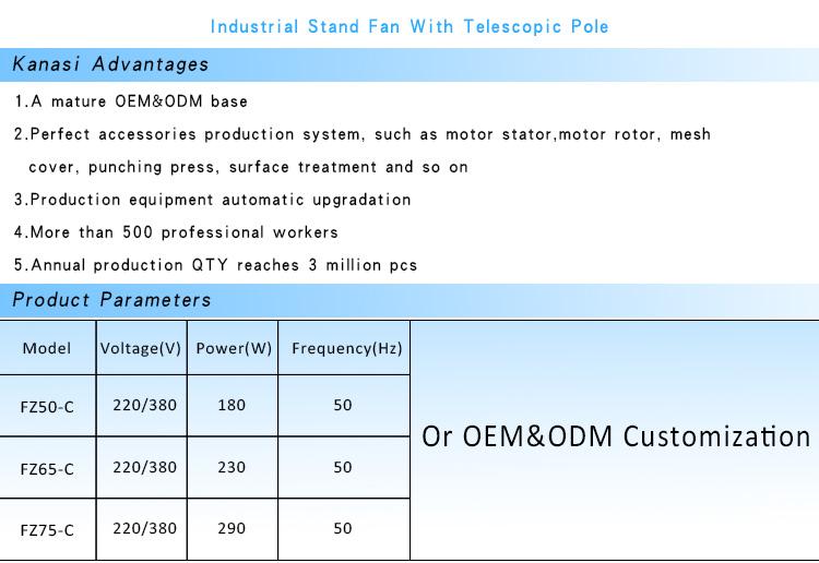 الكهربائية Kanasi 20 26 30 بوصة 110v إلى 240v جبل السعر رخيصة ك د ك في الهواء الطلق الصناعية مروحة جدارية