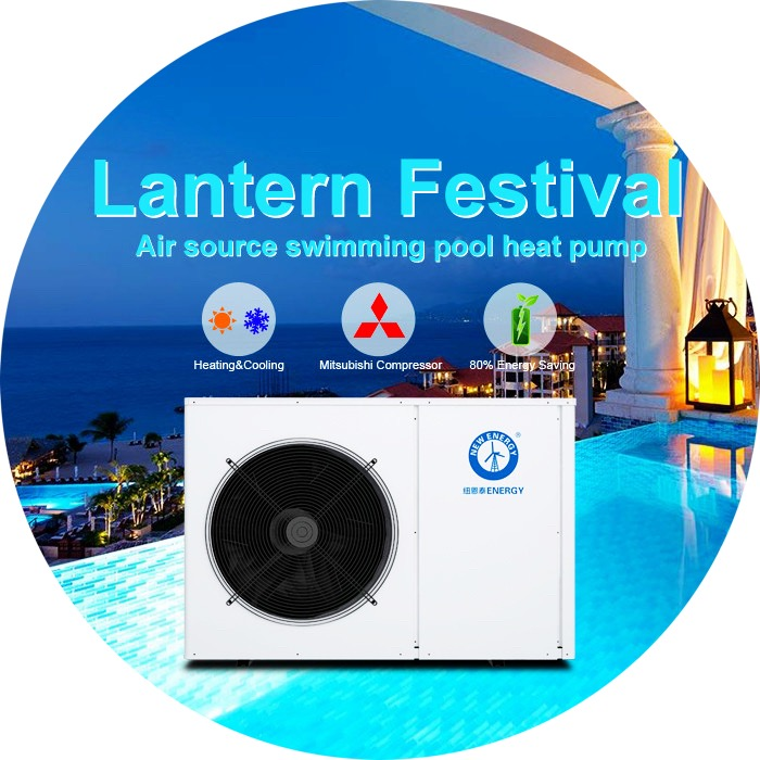 Swimming Pool Water Heater Wholesale Manufacturer Air Source Heat Pump for Swim Pool