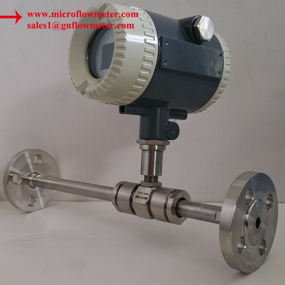 More 30 years' technology to focus details for liquid water turbine control flow meter