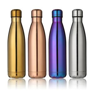 Vacuum Double Wall Stainless Steel Insulated Flasks Thermos Bottle Water 500ML