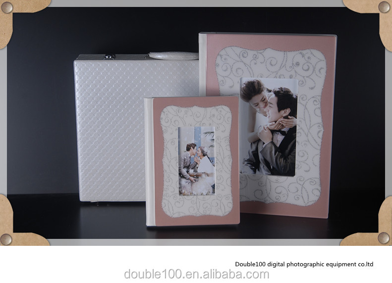 China Manufacturer Crystal Wedding Photo Album Cover