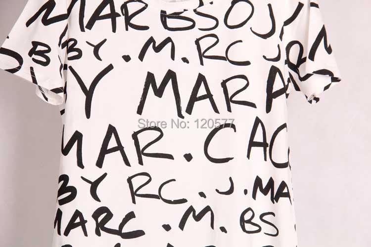 2 цвета Новинка Женская футболка молодежного стиля с коротким рукавом Буквенный принт Материал стрейч хлопок Женский топ S / M / L размеры