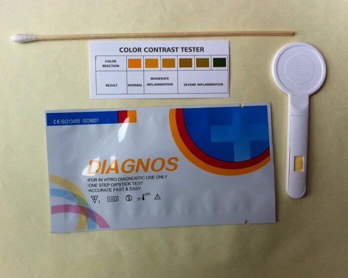 Testing vaginal ph at home