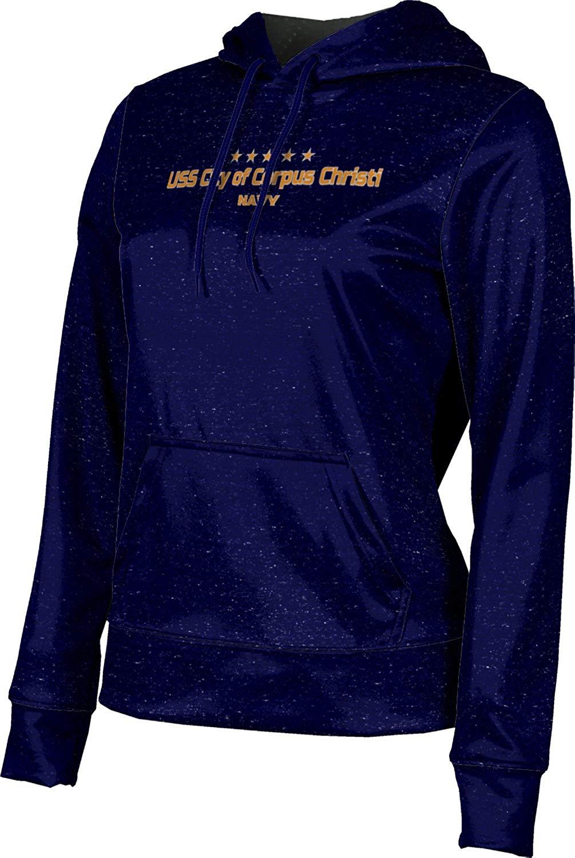 Girls' USS City of Corpus Christi Military Heather Hoodie Sweatshirt (Apparel)