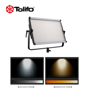 Two Color Temperature Led Video Studio Light Camera Photographic Equipment 3200K-5600K Film Shooting Light