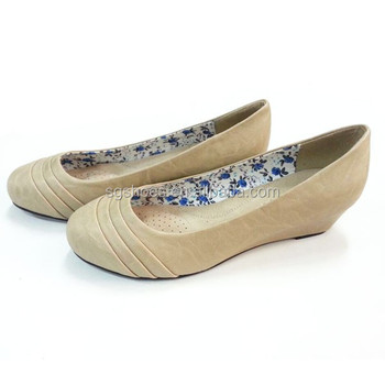 Comfortable Office Lady Wedges Ballerina Las Shoes