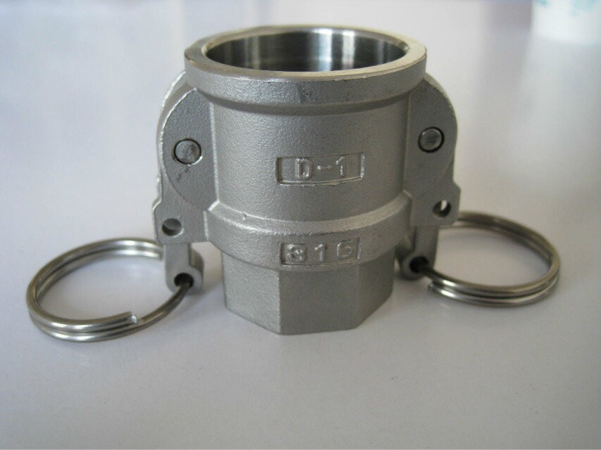 Stainless Hydraulic Quick Coupler : Stainless steel material quick coupling male female