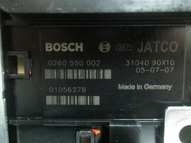Nissan Jatco Re5r05a 0 260 550 002 Tcm Tcu Repair Remanufacturing  Programming - Buy 0 260 550 002 0260550002,Transmission Control Module  Unit,31040