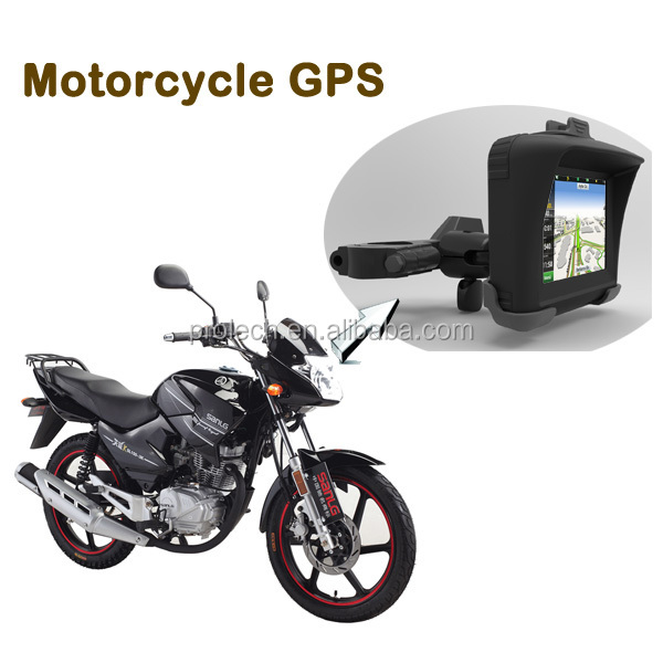 Best Price TFT Touch Screen Resolution 320*240 M Waterproof Motorcycle GPS