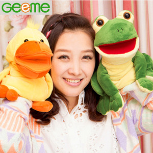 Functional Duck Shaped Hand Puppet with Voice